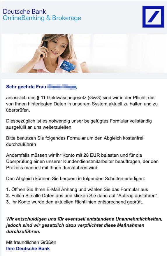 2019-03-01 Deutsche Bank Phishing