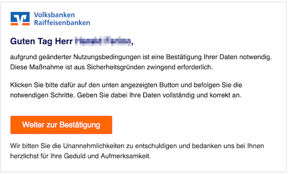 2019-03-05 Volksbank Phishing