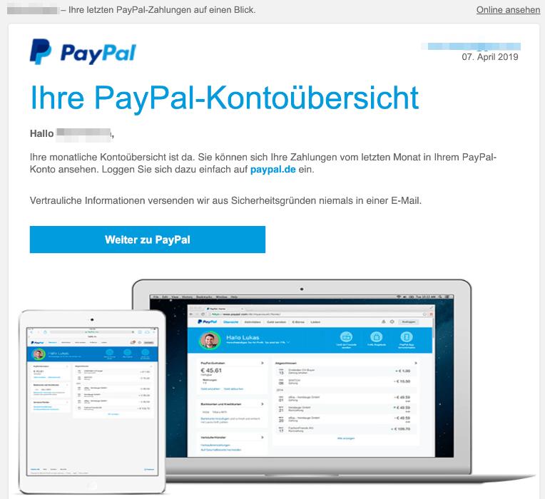 Paypal Konto Aufrufen