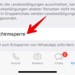 Anleitung WhatsApp Bildschirmsperre 3