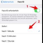 Anleitung WhatsApp Bildschirmsperre 4