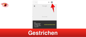 Google entfernt Benachrichtigungen auf Webseite