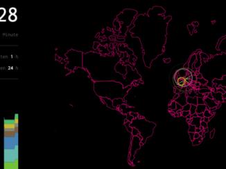 Sicherheitstacho der Deutschen Telekom zeigt Cyberangriffe in Echtzeit