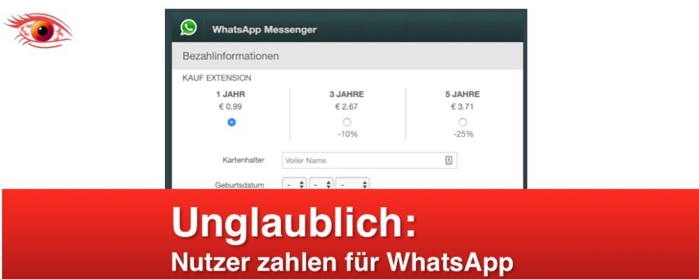 """WhatsApp Phishing: """"Wichtige Neue Nachricht"""" ist Betrug (Update)"""