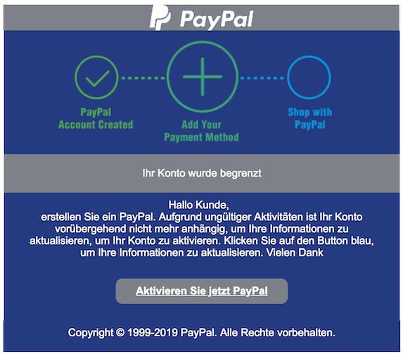 2019-03-04 PayPal Phishing