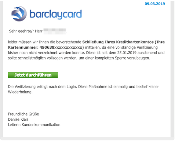 2019-03-09 Barclay Phishing