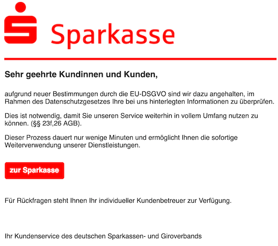 2019-03-10 Sparkasse Phishing