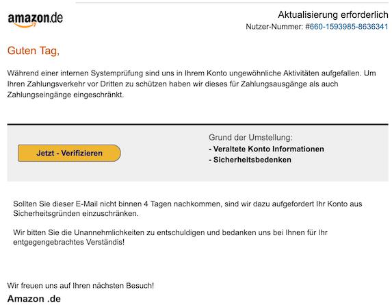 2019-03-13 Amazon Phishing