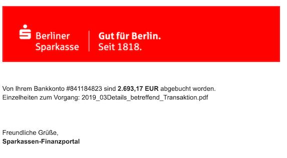2019-03-14 Sparkasse Phishing