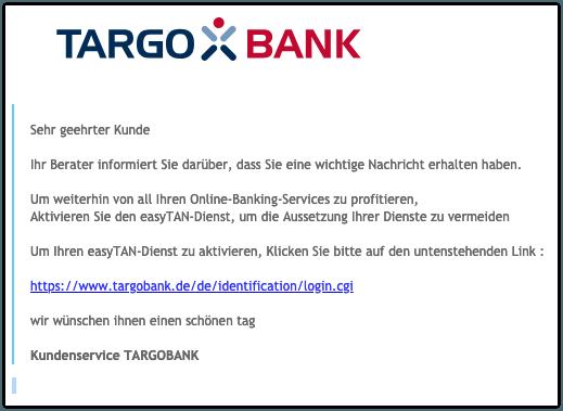 2019-03-15 Phishing Targobank