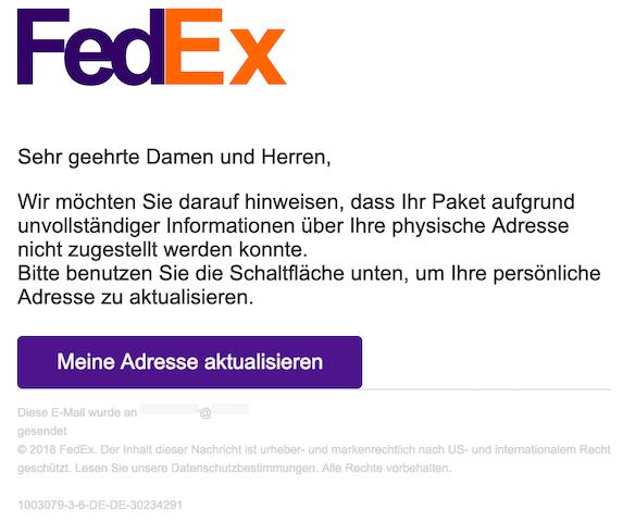 2019-03-17 FedEx Phishing