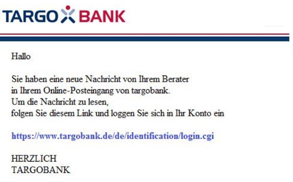 2019-03-20 Targobank Phishing