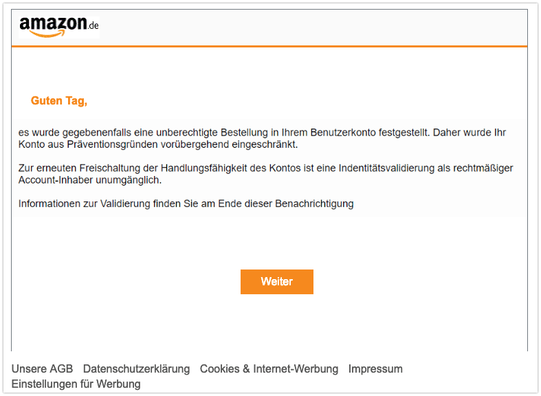 2019-03-28 Phishing Amazon