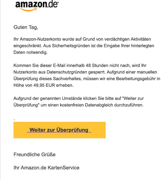2019-03-31 Phishing Amazon