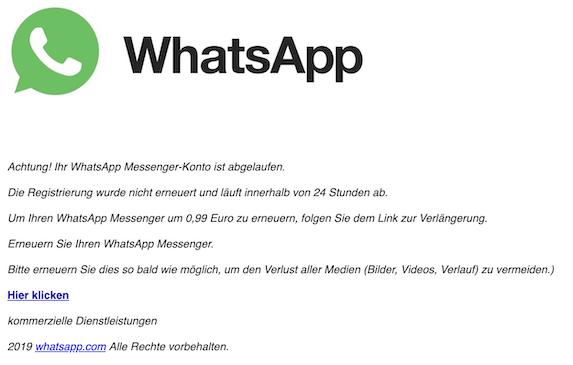 2019-04-22 Phishing WhatsApp
