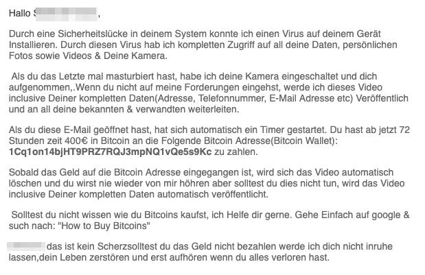 2019-05-03 E-Mail Rechtsanwalt Erpressung 2 Mahnung - Aktenzeichen