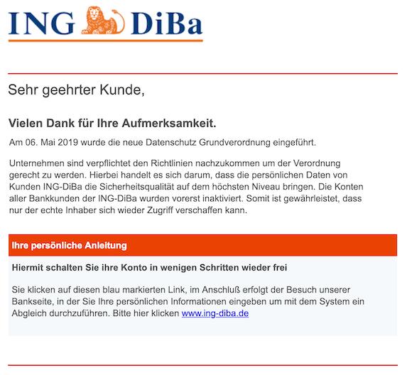 2019-05-09 Phishing ING
