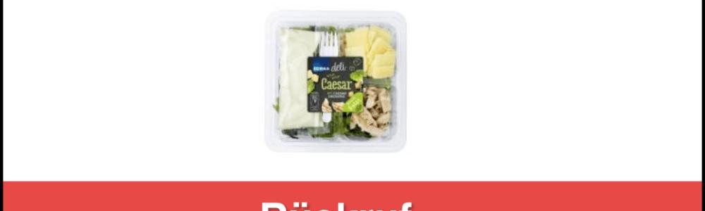 EDEKA/Marktkauf Rückruf: Salatschale Caesar von Gartenfrisch Jung GmbH