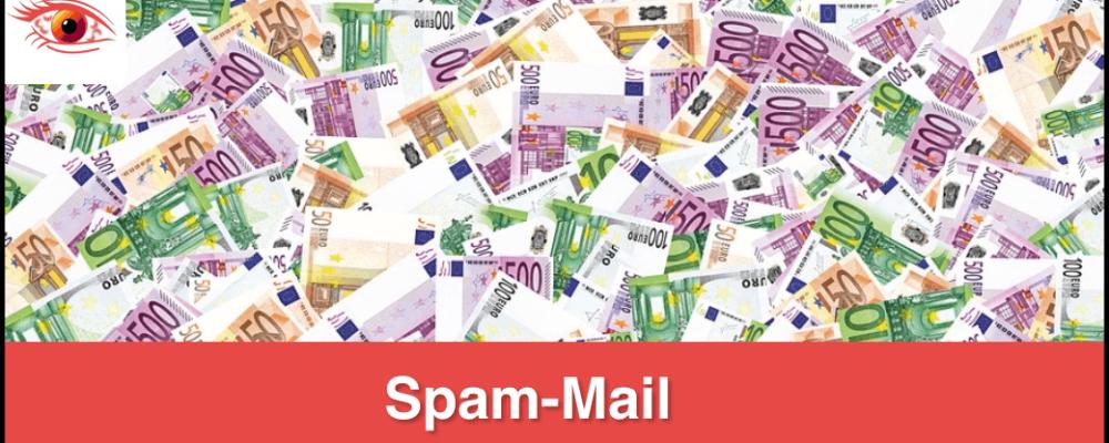 Achtung Betrug: Spende per E-Mail von Robert Bailey ist Spam