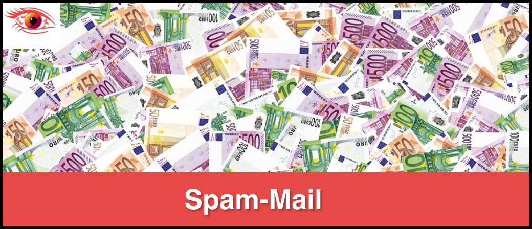 Spam Mail Lotterie Gewinn Geld