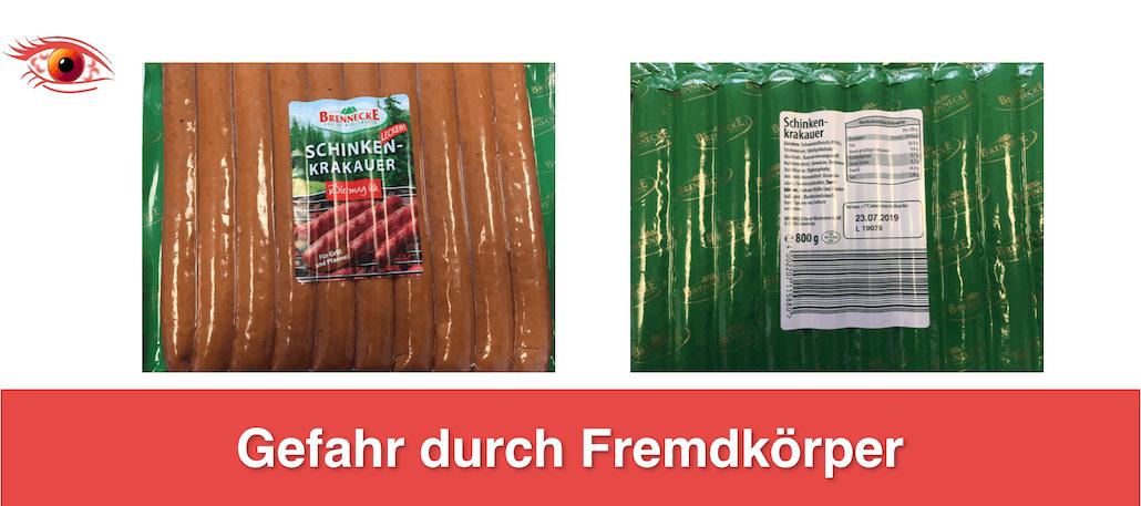 2019-04-11 Rückruf Schinken-Krakauer