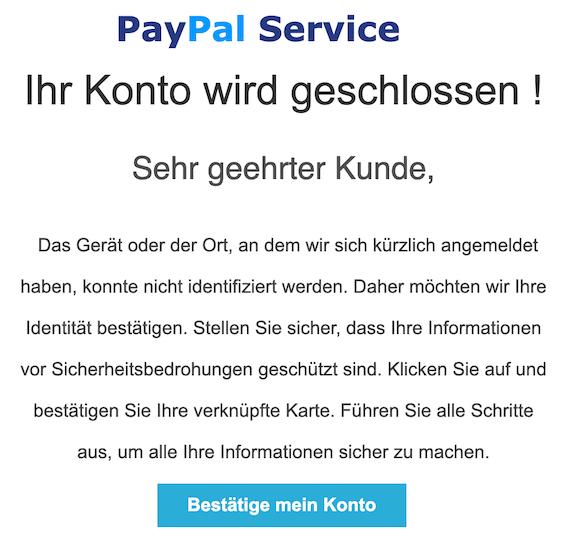 2019-04-20 Phishing PayPal