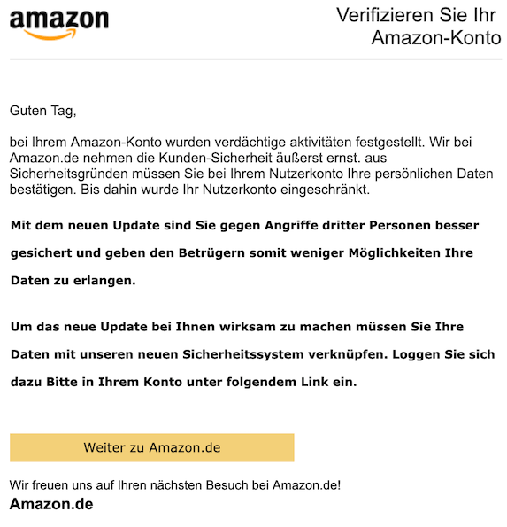2019-05-07 Phishing Amazon