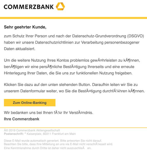 2019-05-19 Phishing Commerzbank