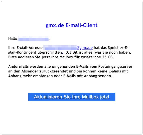 Wiederherstellen gmx gelöschte e-mail anhänge Gelöschten GMX