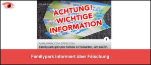 Facebook Familypark Karten_logo