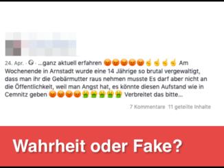 Facebook Vergewaltigung Arnstadt_logo