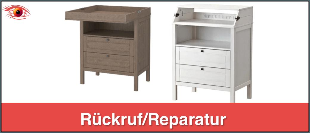 IKEA Rückruf Wickeltisch