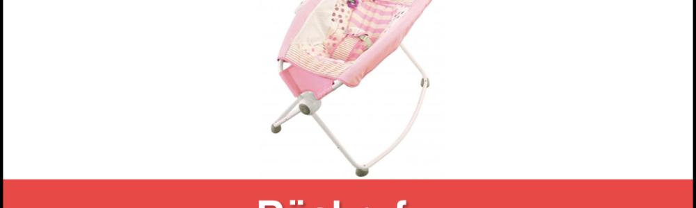Wegen Todesfällen: Fisher Price ruft Babywippe Rock´n Play Sleeper zurück