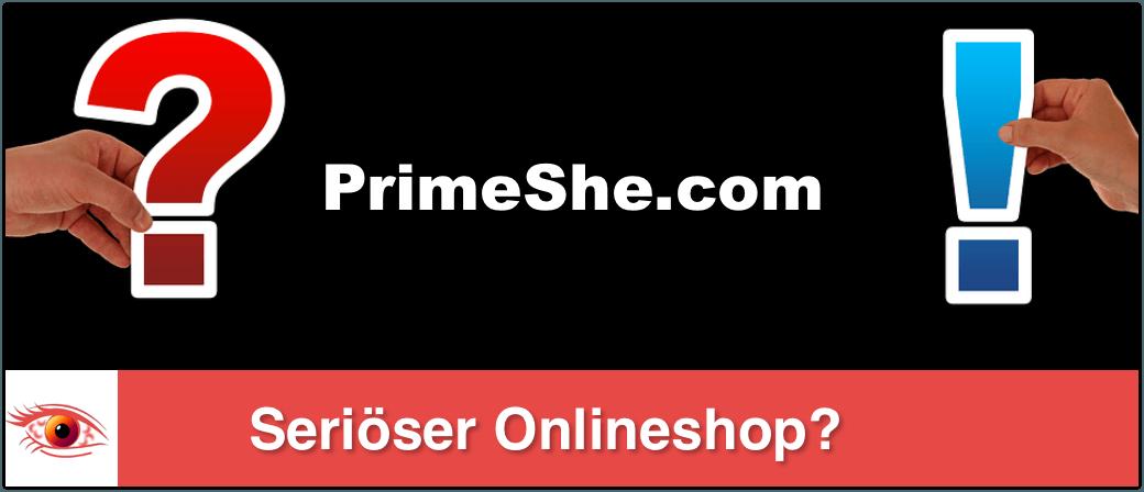 primeshe Onlineshop