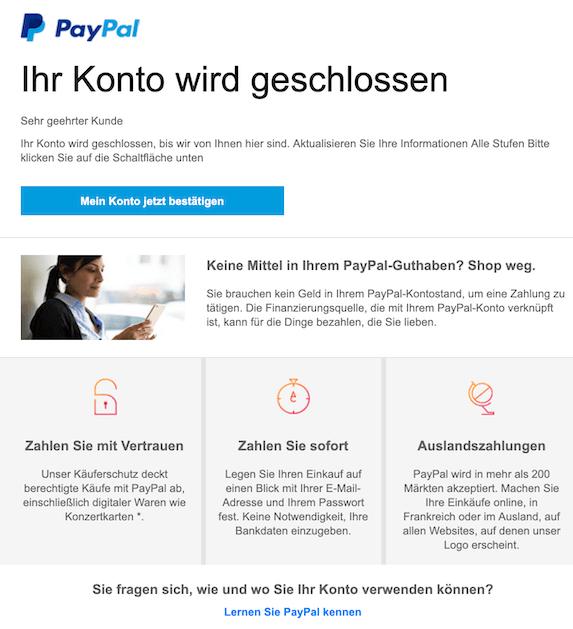 2019-05-03 Phishing PayPal
