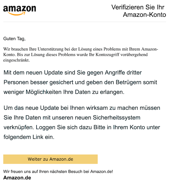 2019-05-09 Phishing Amazon