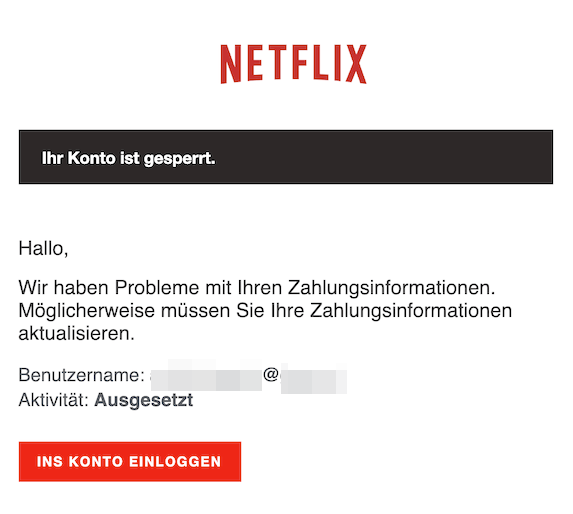 2019-05-19 Phishing Netflix