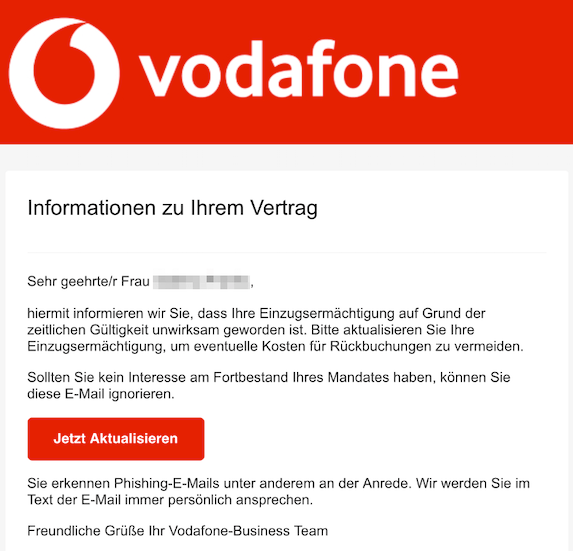 2019-05-25-Vodafone-Phishing-Mail-Ihr-Lastschriftmandat-ist-veraltet