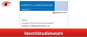 2019-05-28 E-Mail Bundesagentru für Arbeit Produkttester Fake