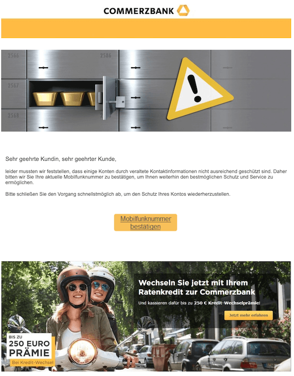 2019-06-03 Phishing Commerzbank