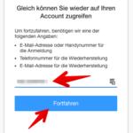 Anleitung AOL Passwort zurücksetzen 2