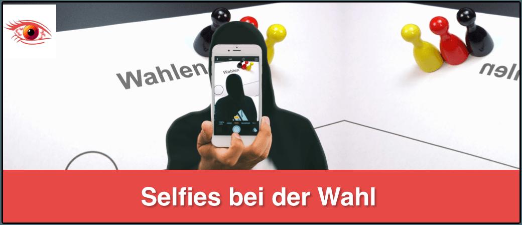 Selfies bei Wahlen erlaubt oder nicht