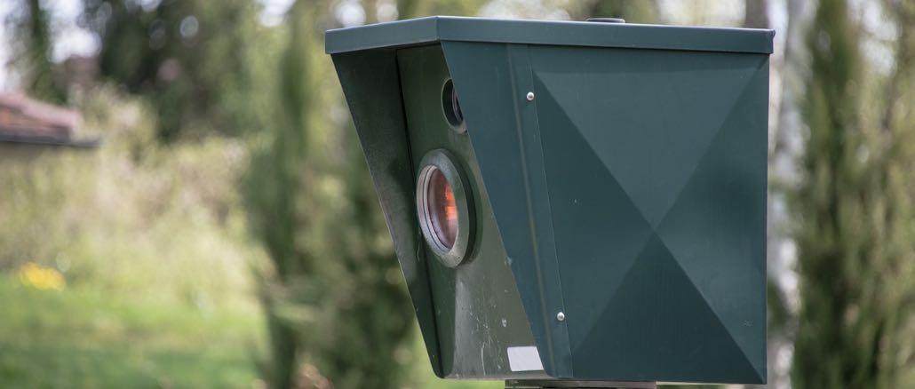 Symbolbild Blitzer Radarfalle