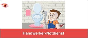 Symbolbild Handwerker Notdienste