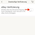 eBay zweistufige Verifizierung4