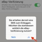eBay zweistufige Verifizierung5