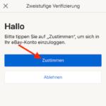 eBay zweistufige Verifizierung7