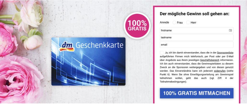 2019-06-03 E-Mail 250 Euro DM-Gutschein Fake Spam