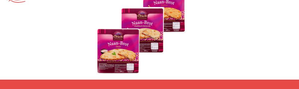 Aldi Nord: Rückruf von Orient Specials Naan Brot – Gesundheitsgefahr