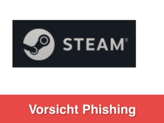 2019-06-12 Phishingseite Steam